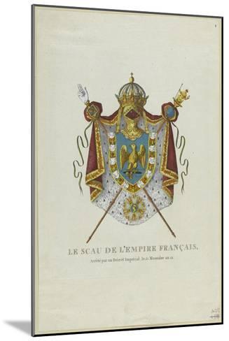 Sceau de l'Empire français--Mounted Giclee Print