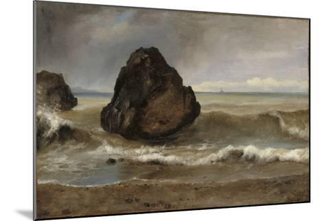 Vue de mer, à Salerne-Achille Etna Michallon-Mounted Giclee Print