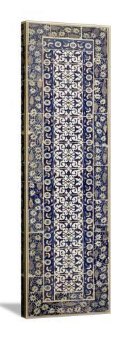 Panneau de revêtement à décor d'arabesques--Stretched Canvas Print