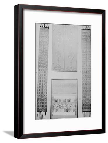 Volets peints et ceintures de Fès--Framed Art Print