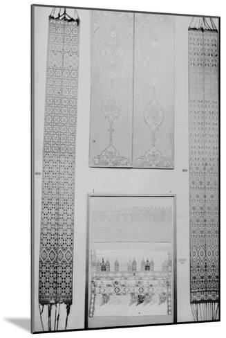 Volets peints et ceintures de Fès--Mounted Giclee Print
