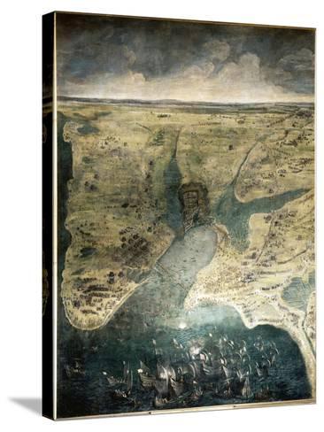 Siège de la Rochelle du 10 août 1627 au 28 octobre 1628-Jacques Callot-Stretched Canvas Print