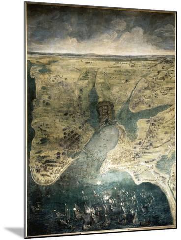 Siège de la Rochelle du 10 août 1627 au 28 octobre 1628-Jacques Callot-Mounted Giclee Print