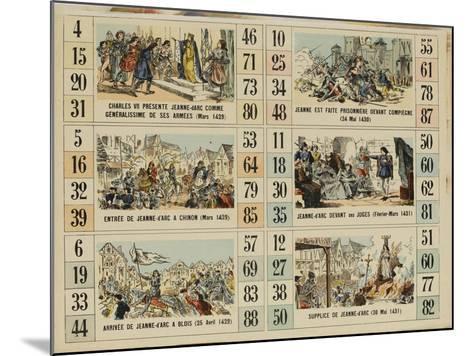 Six scènes de la vie de Jeanne d'Arc--Mounted Giclee Print