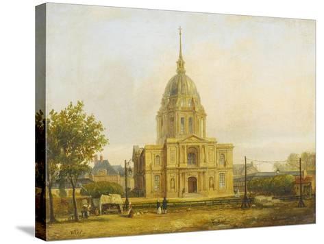 Six petites vues de Paris-Francois Etienne Villeret-Stretched Canvas Print