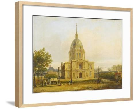 Six petites vues de Paris-Francois Etienne Villeret-Framed Art Print