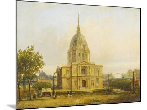Six petites vues de Paris-Francois Etienne Villeret-Mounted Giclee Print