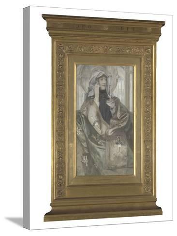 L'Encens-Fernand Khnopff-Stretched Canvas Print