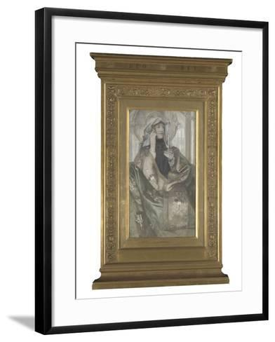 L'Encens-Fernand Khnopff-Framed Art Print