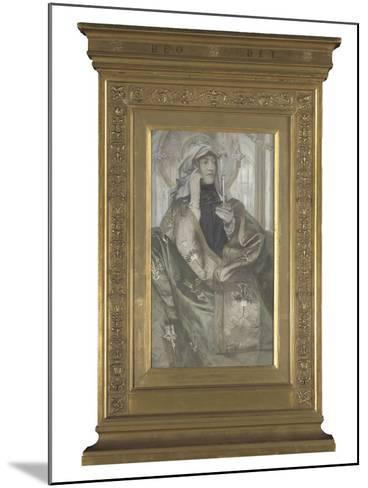 L'Encens-Fernand Khnopff-Mounted Giclee Print