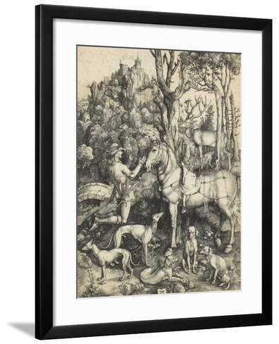Saint Eustache-Albrecht D?rer-Framed Art Print
