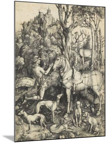 Saint Eustache-Albrecht D?rer-Mounted Giclee Print