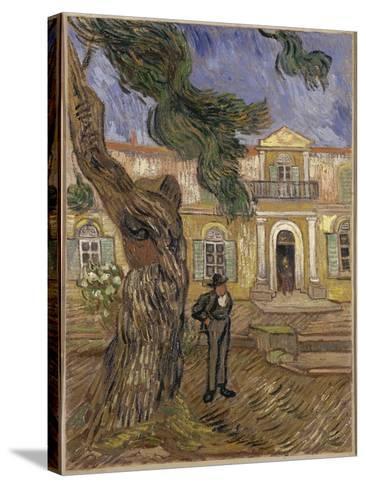 Hôpital Saint-Paul à Saint-Rémy-de-Provence-Vincent van Gogh-Stretched Canvas Print