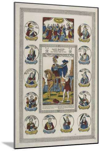 Saint Martin, évêque de Tours--Mounted Giclee Print