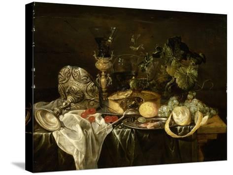 Nature morte-Cornelis de Heem-Stretched Canvas Print