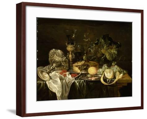 Nature morte-Cornelis de Heem-Framed Art Print