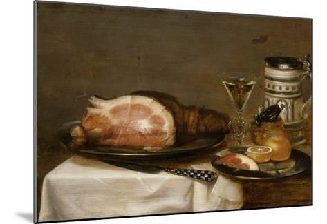 Nature morte au jambon-Jacob Fopsen Van Es-Mounted Giclee Print