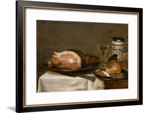 Nature morte au jambon-Jacob Fopsen Van Es-Framed Art Print