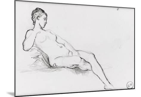 Etudes pour Vénus apparaissant aux premiers hommes-Gustave Moreau-Mounted Giclee Print