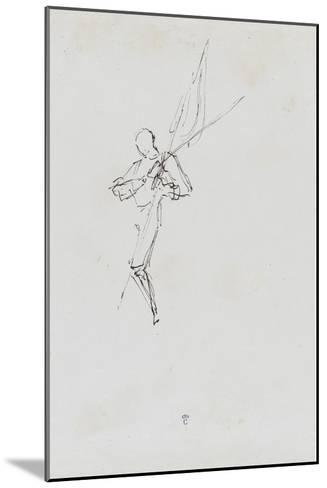 """Etude pour le """"Baptême du Prince impérial""""-Thomas Couture-Mounted Giclee Print"""