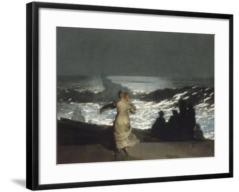 Nuit d'été-Winslow Homer-Framed Art Print