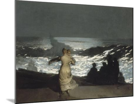 Nuit d'été-Winslow Homer-Mounted Giclee Print
