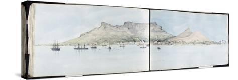 Table-Bay, Cap de Bonne-Espérance--Stretched Canvas Print