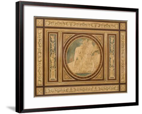 Table à écrire du Salon de musique--Framed Art Print