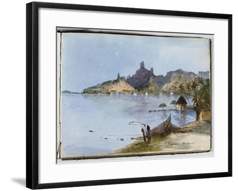 Teavaro (île Moorea)--Framed Art Print