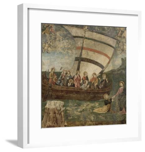 """La """"Navicella"""", d'après Giotto-Giotto di Bondone-Framed Art Print"""