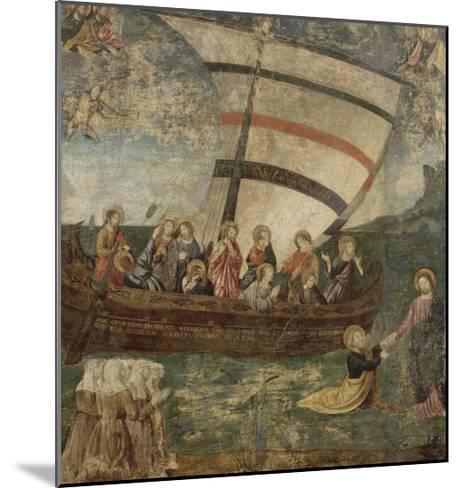 """La """"Navicella"""", d'après Giotto-Giotto di Bondone-Mounted Giclee Print"""