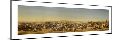 Prise de la Smalah d'Abd El-Kader-Horace Vernet-Mounted Giclee Print