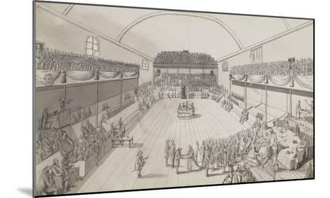 L'accouchement de la Constitution--Mounted Giclee Print