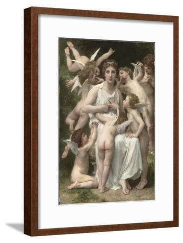 L'Assaut-William Adolphe Bouguereau-Framed Art Print