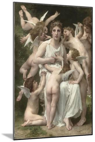 L'Assaut-William Adolphe Bouguereau-Mounted Giclee Print