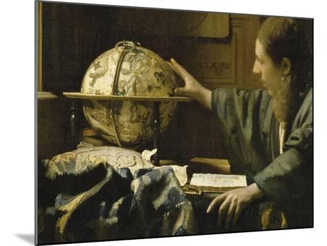 L'astronome dit aussi l'Astrologue-Johannes Vermeer-Mounted Giclee Print