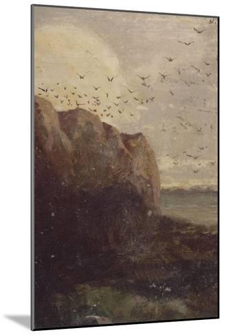 La Baie des Trépassés (Finistère)-Odilon Redon-Mounted Giclee Print