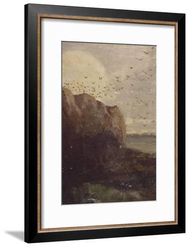 La Baie des Trépassés (Finistère)-Odilon Redon-Framed Art Print