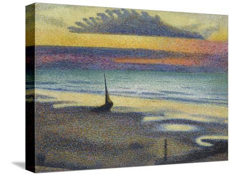 La Plage à Heist-Georges Lemmen-Stretched Canvas Print