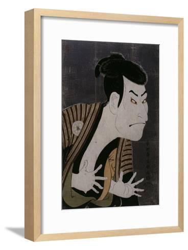 L'acteur Otani Oniji III-Tôshûsai Sharaku-Framed Art Print
