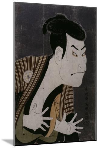 L'acteur Otani Oniji III-Tôshûsai Sharaku-Mounted Giclee Print
