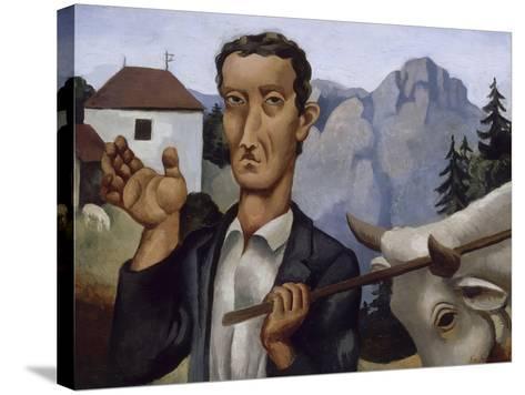 Le bouvier-Roger de La Fresnaye-Stretched Canvas Print