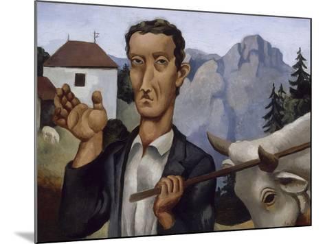 Le bouvier-Roger de La Fresnaye-Mounted Giclee Print