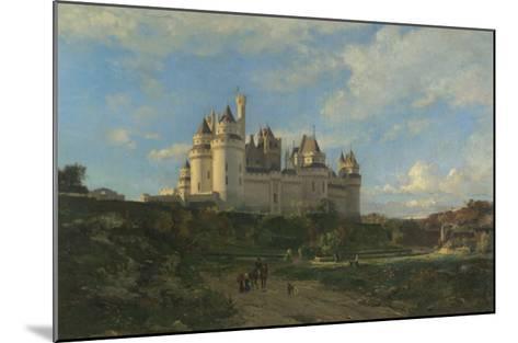 Le Château de Pierrefonds-Emmanuel Lansyer-Mounted Giclee Print