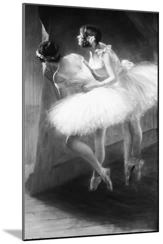 Le Jour de l'examen (danseuses)-François Vizzavona-Mounted Giclee Print
