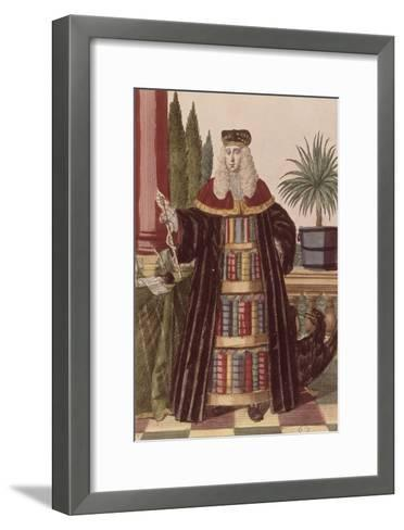 Le médecin-Martin Engelbrecht-Framed Art Print