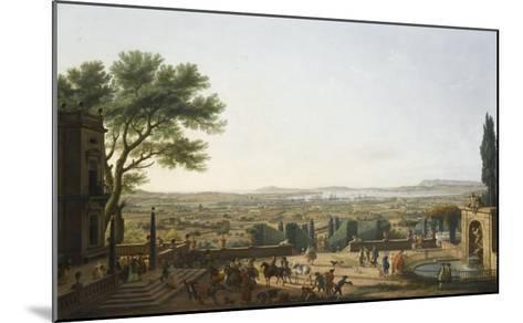 La Ville et la rade de Toulon-Claude Joseph Vernet-Mounted Giclee Print