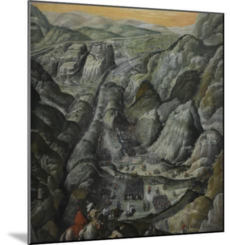 Le combat du défilé du Pas-de-Suze en Piémont, 6 mars 1629--Mounted Giclee Print