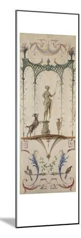 Le Faune-Jean Antoine Watteau-Mounted Giclee Print