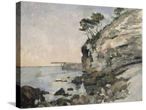 L'Estaque, effet du soir-Paul C?zanne-Stretched Canvas Print